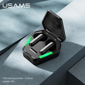 USAMS 2020 Gaming tws earphone Touch Wireless Earbuds TWS Headphone BT5.0 for Iphone 12