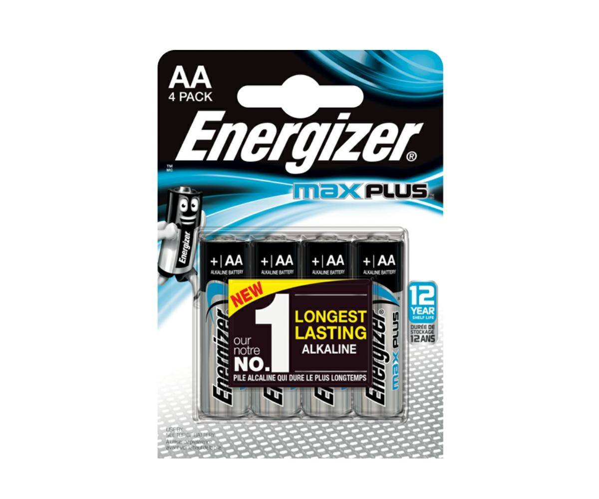 High Quality Alkaline Battery LR6 AA MAX PLUS (4 pieces)