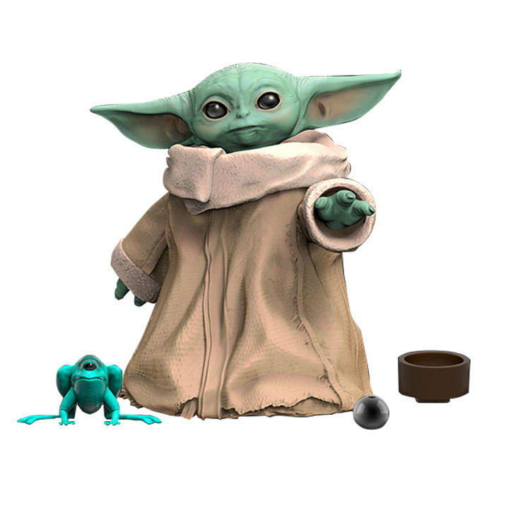 2021 Wholesale Baby Yoda Toy Collectible Film Character PVC Figurines Action Figure cute Mini Baby Yoda