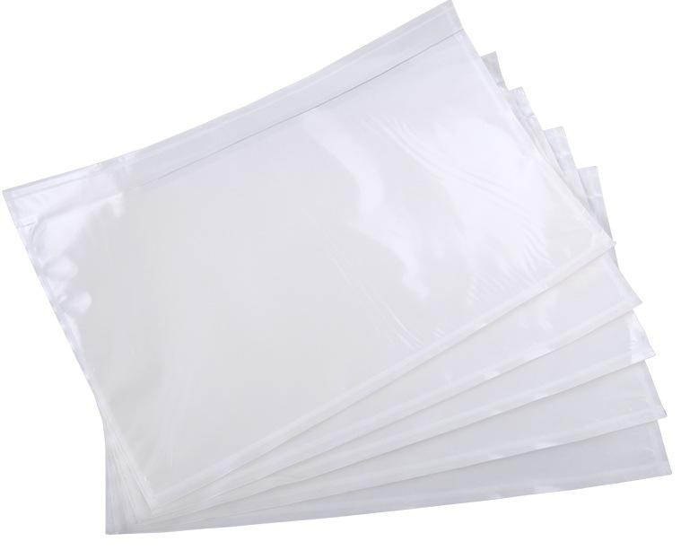 Self Adhesive Sealing Packing Custom Printed Ldpe Coex Express Poly Plastic Courier Mailing Bag With Clear Pocket