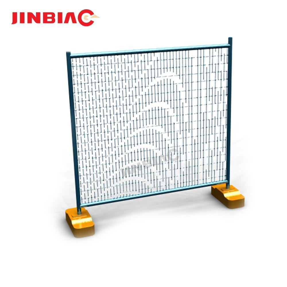 American galvanized chain wire temporary fence / removable portable diamond fences panel