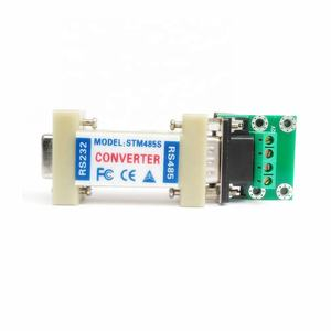 Taidacent Asynchrone Halb Duplex Differential Rs485 Db9 Stecker Seriell zu Ethernet Adapter Rs232 Rs485 Konverter