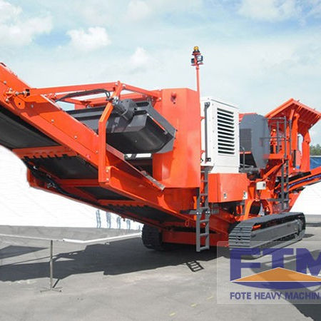 Professional mining equipment provide high quality mobile stone crushing plant crawler type portable crusher