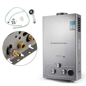 18L Natural Gas Hot Water Heater Tankless Instant Boiler