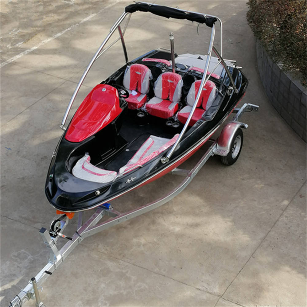 16ft Towable water skiing speed boat wakeboard sport boat for resell