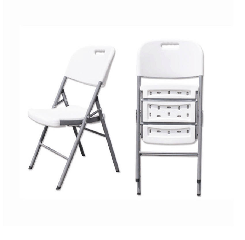 hot selling plastic resin folding chairs wholesale foldable Banquet chair stackable plastic chairs