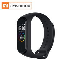 Global Version Xiaomi Mi Band 4 Bracelet Heart Rate Fitness Blue-tooth 5.0 AI Heart Rate Xiaomi Smart Watch Mi Band 4