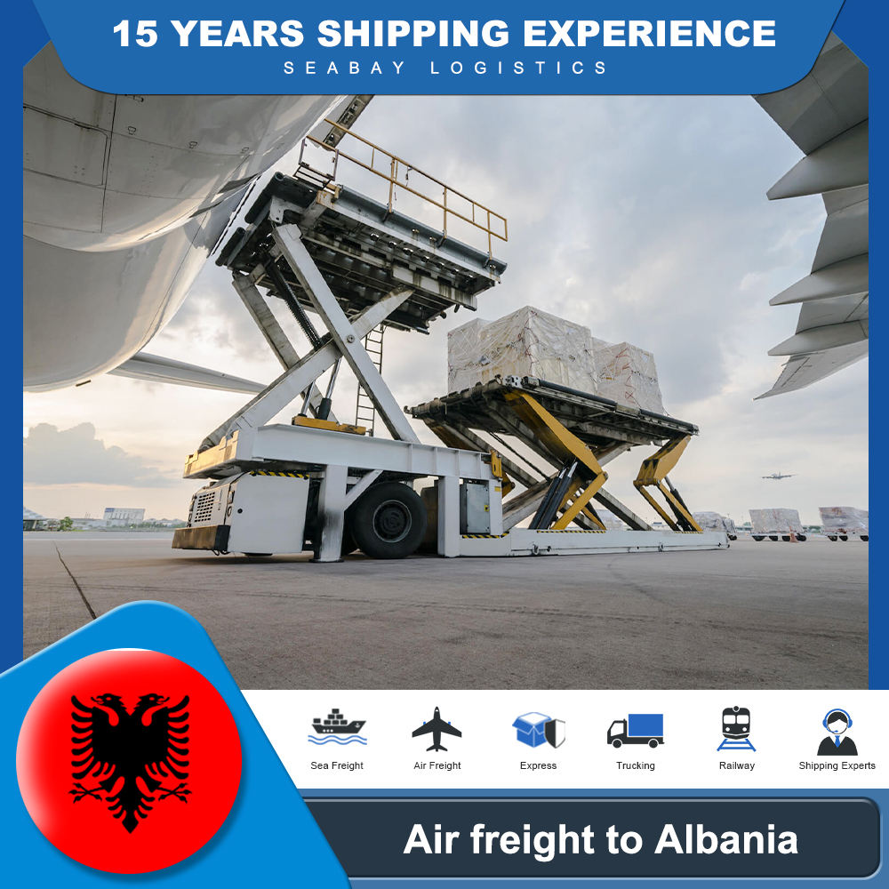 Professional air cargo freight service from China to Albania