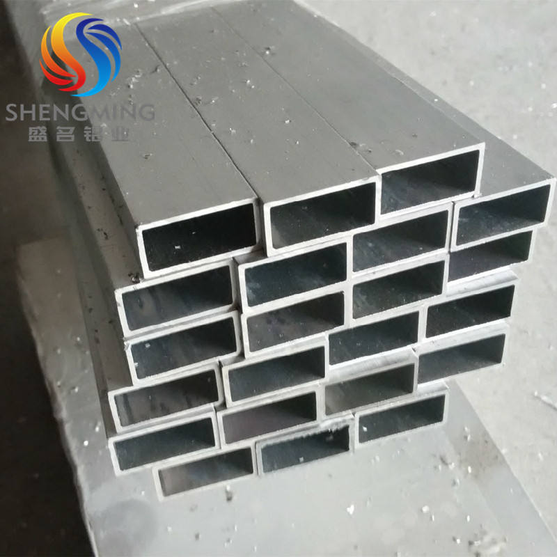15mm internally threaded aluminum rectangular tube