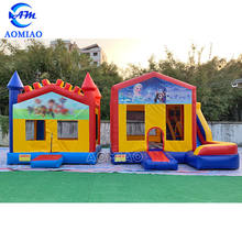 Customized High Quality Inflatable Bouncer Jumping Castle For Kids and Adults