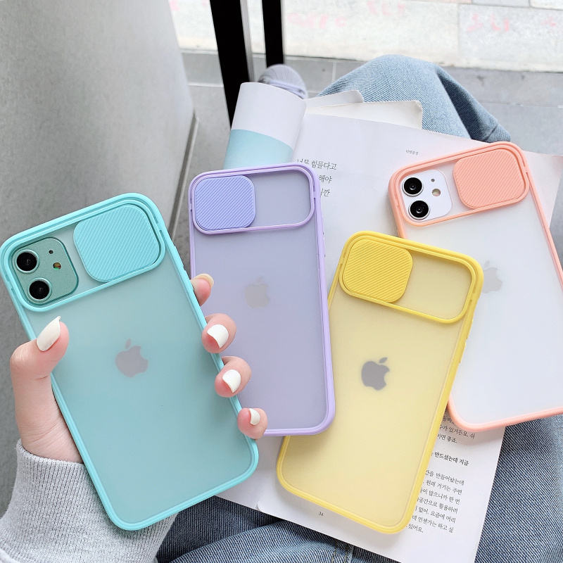 2020 Hot New Camera Lens Protection Phone Case on For iPhone 11 Pro Max Color Candy Soft Back Cover Gift For iPhone 11 Case