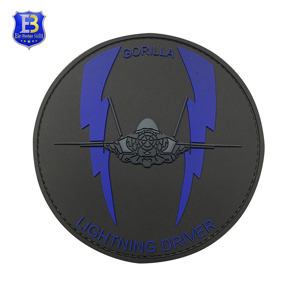 Custom AIR FORCE F-35 F-15 ALIS PVC PATCH 3D Militare di Patch