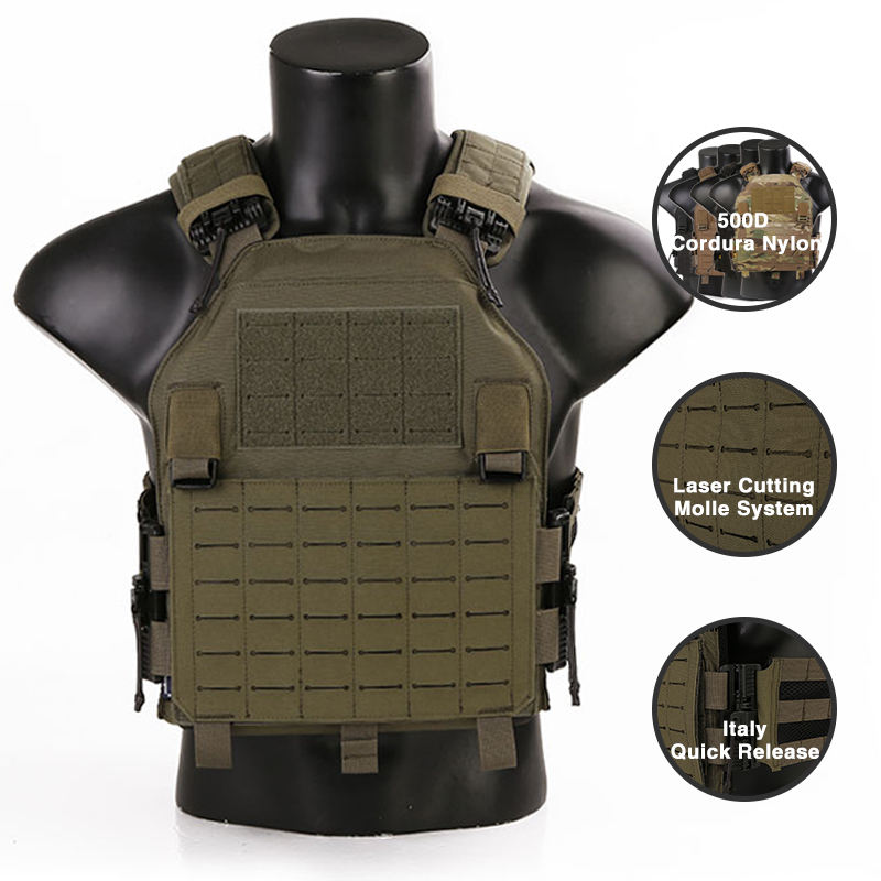 Military Equipment Tactical Vest Emersongear Tactical Plate Carrier Vest Army Lightweight Tactical Gear Police Equipment Military Tactical Combat Vest