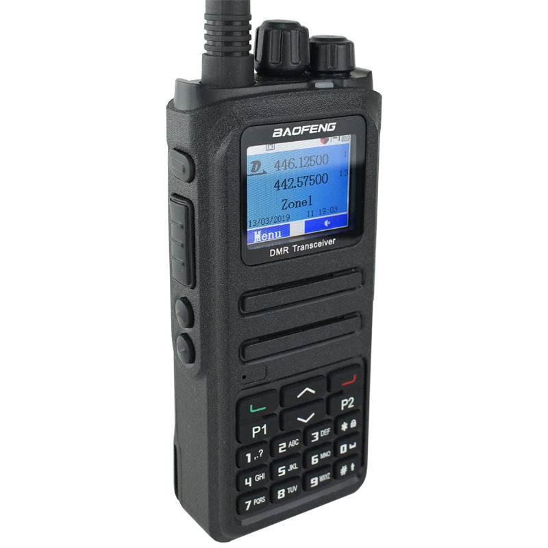 BF1701 BAOFENG DMR digital walkie talkie cheap intercom two way radio long range dual band woki toki phone with keypad