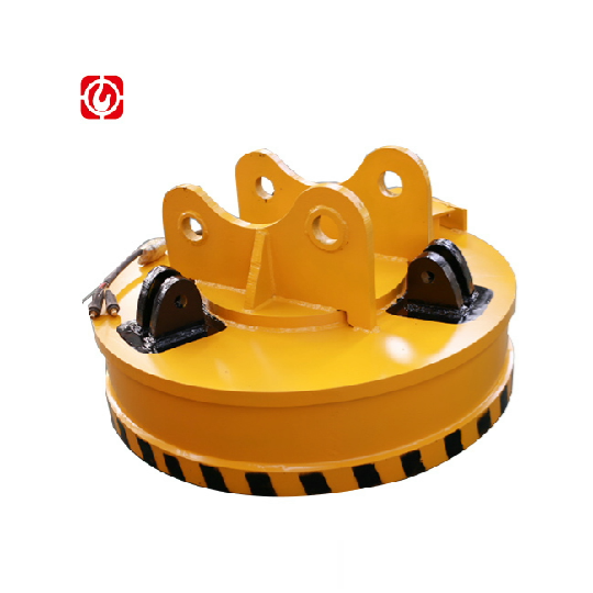 Jinniu China factory high quality for excavator metal MW5-110L/1-75 scrap circular electromagnetic lifting magnet