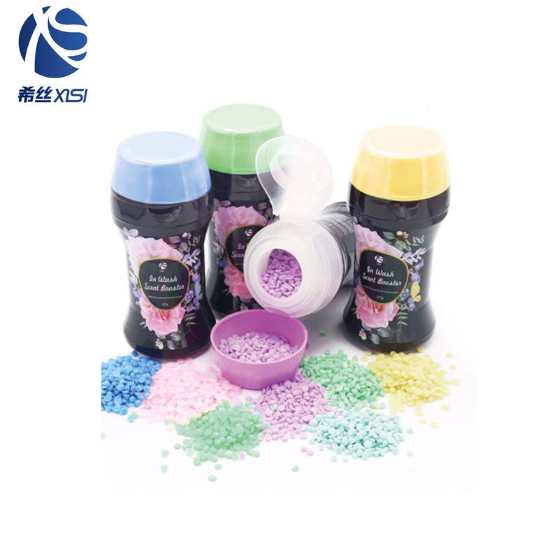 New household product brand scent booster pearls in wash laundry perfume scent pellets