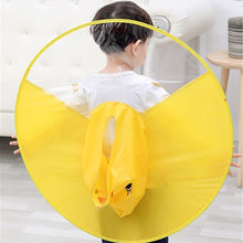 Km Oem Ufo Cap Foldable Umbrella Portable Lightweight Rain Coat For Workers In Rain