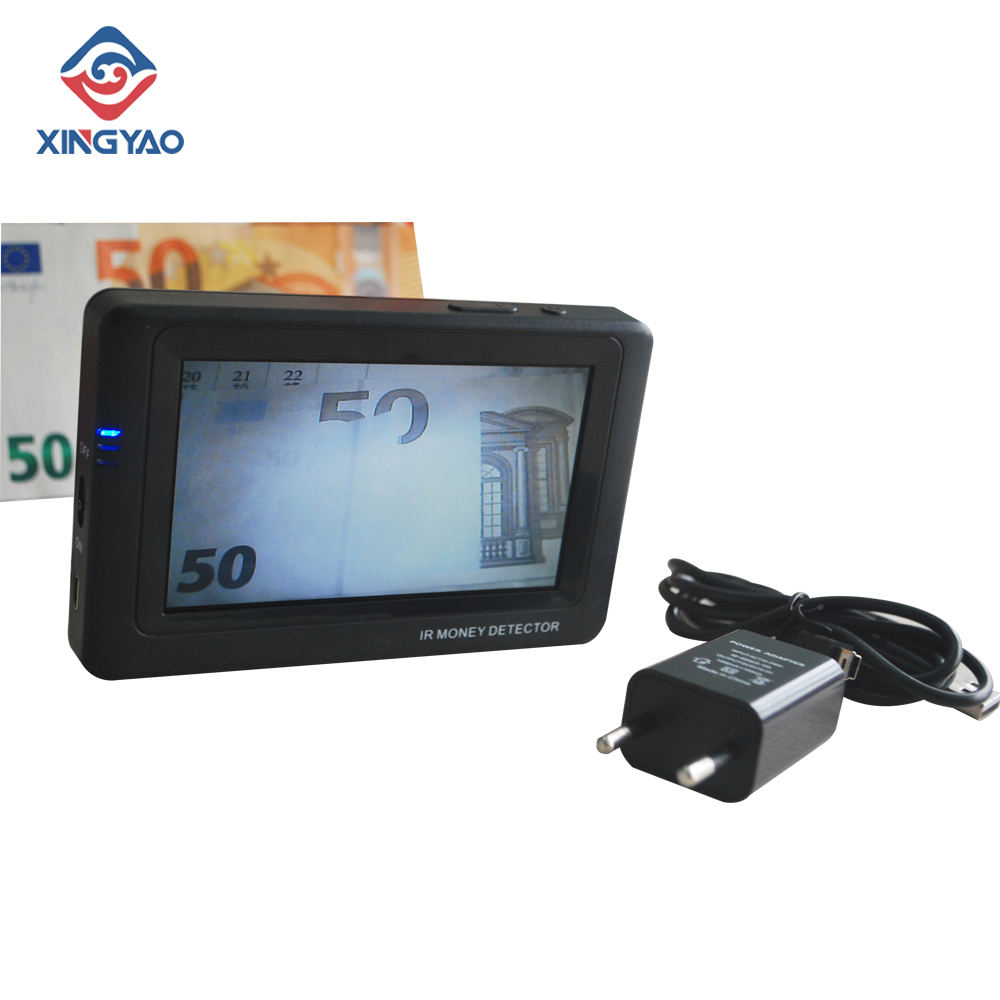 IR INFRARED CAMERA MONEY DETECTOR PORTABLE CASH CURRENCIES DETECTOR MINI BANKNOTE DETECTOR