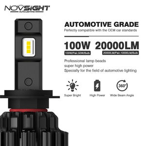 Novsight A397-F06/F3 super brightness 20000lumens 9005 HB3 9006 HB4 H4 H7 H11 led motorcycle bulbs car auto led headlight