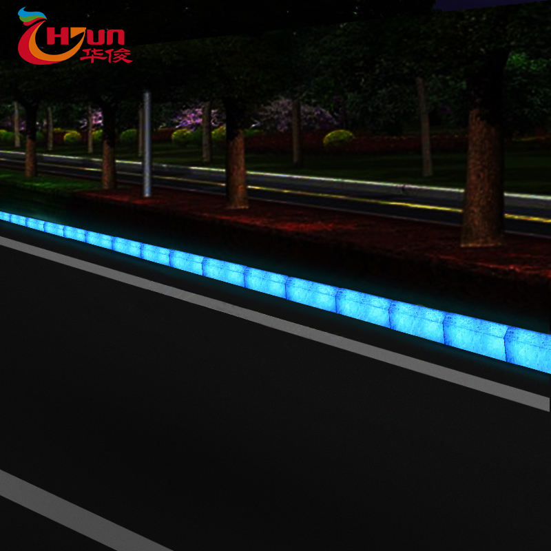 2020 New solar lighted curbstone Waterproof solar led curbstone for Sale