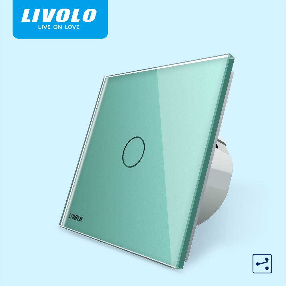 Livolo WIFI 1 Gang Daya Listrik Dinding LED Grow Light Switch
