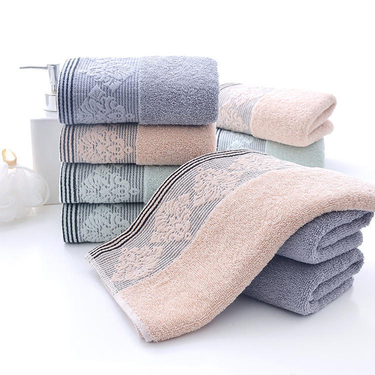 Cotton face towel adult soft towel can be customized gift towel