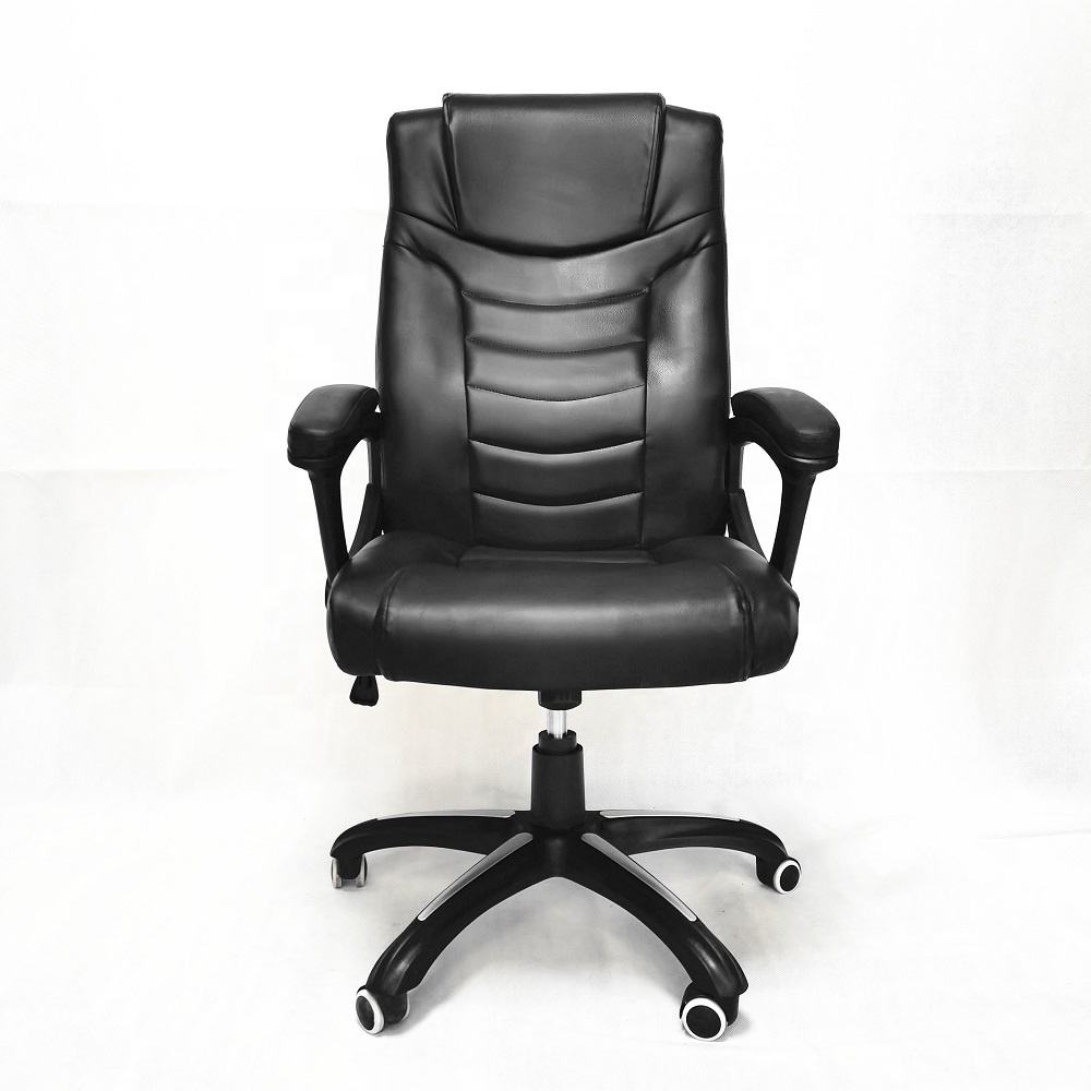 European market Massage Recliner Luxury Office Chairs HIgh Back Seat Black Office Chair Hot in Europe Commercial Lift Boss Chair