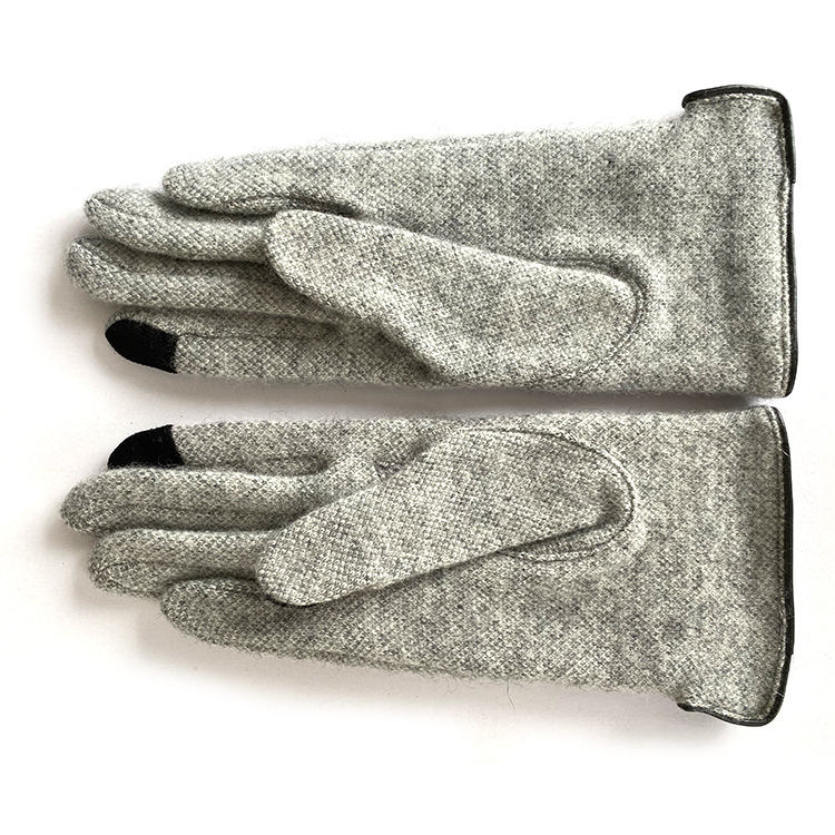 women winter hand touch screen golf wool gloves