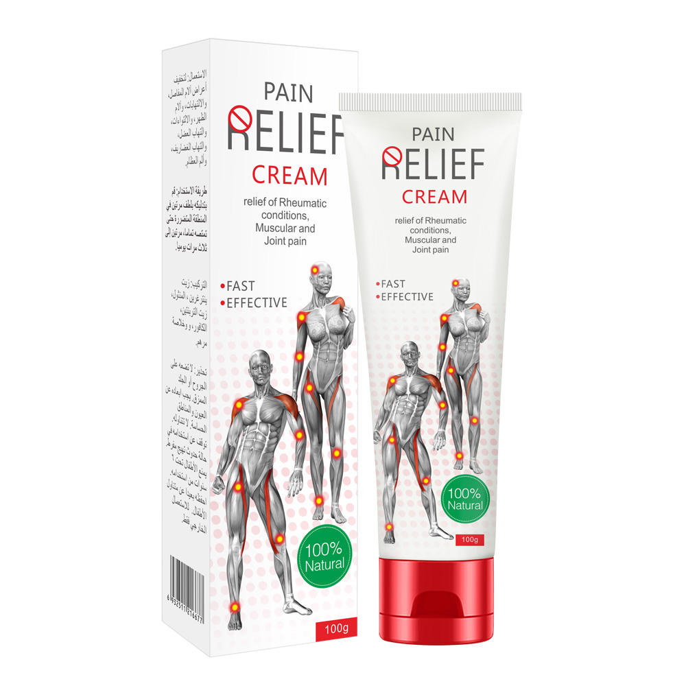 Muscular, Arthritic and Shoulder Pain Relief Body Massage Cream