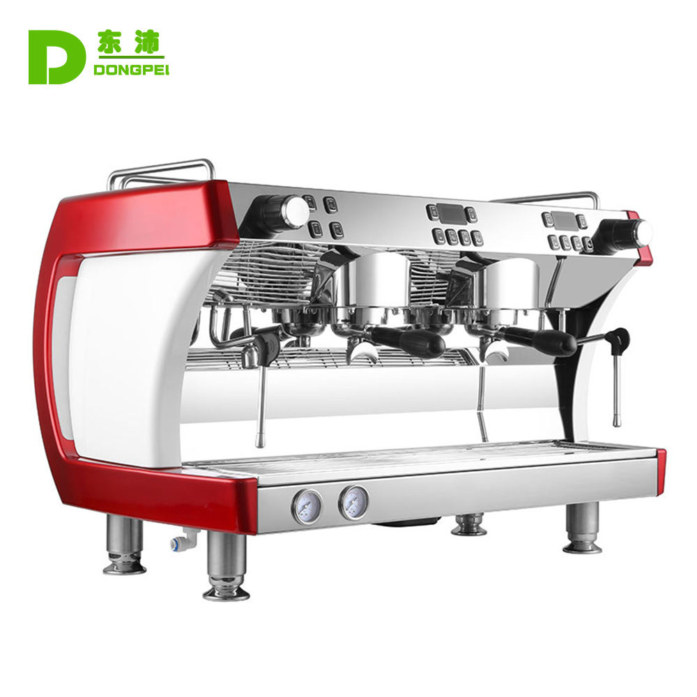 Professionele Cappuccino Machine 2 Groep Voor Coffee Shop Cafe