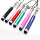 Two Links Retractable Capacitive Stylus Touch Screen Tablet Pen For iPhone iPad Tablet PC Mobile phone