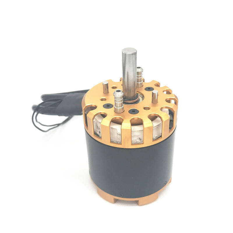 High efficiency high torque water cooling 15 hp 48v 10kw brushless dc motor