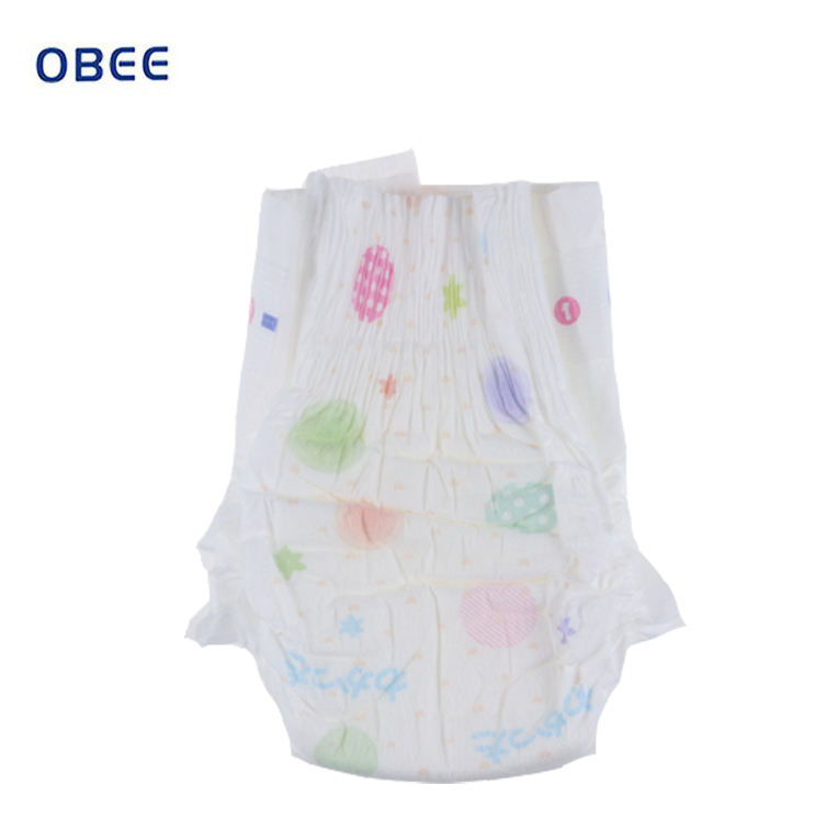 OEM Top Quality Fluff Pulp With Imported Sap Super Soft Baby Disposable Diapers