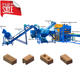 Earth brick block Machine WT6-10 big capacity fully automatic clay brick machine production line