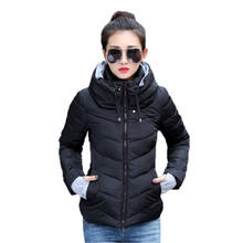 wholesale high quality fashion warm windproof winter padding coat clothes for women