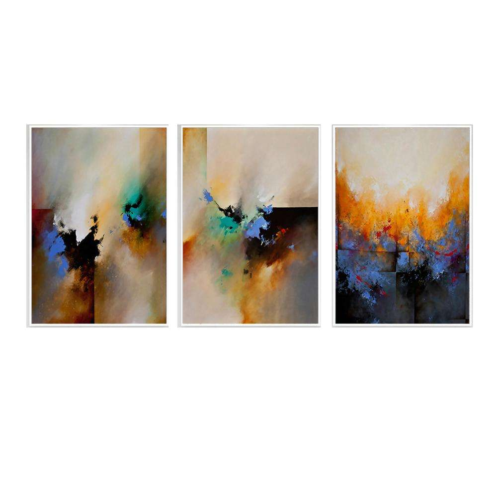 40x50cm Framed Printing Painting Decorative Abstract Painting Wall Art on Canvas
