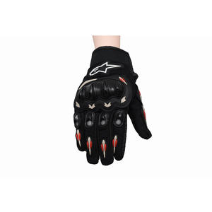 Motorcycle Gloves Custom High Quality Racing Gloves PU Leather Riding Gloves