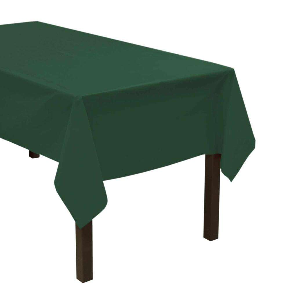 20 colors available solid color disposable table cloth suitable for any size of table