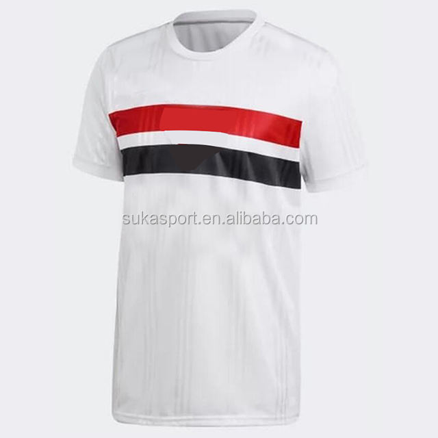 2020 camisa sao paulo futebol home away new season Brazil club custom soccer jersey football shirt kits