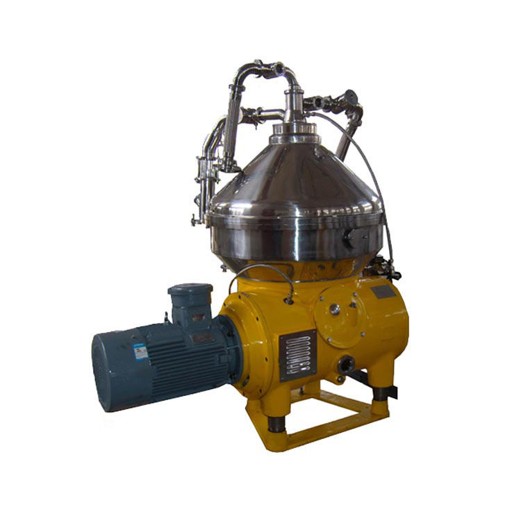 3-phase separation skid mounted type disk stack solids retaining centrifuge oil water centrifuge separator