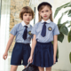 2020 popular customized summer new short sleeve school uniforms for children
