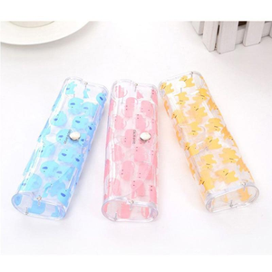 Cute Clear Sunglasses Glasses Case Transparent Glass Spectacle Storage Protection Carry Box Nice Fashion Eyewear Accessoires