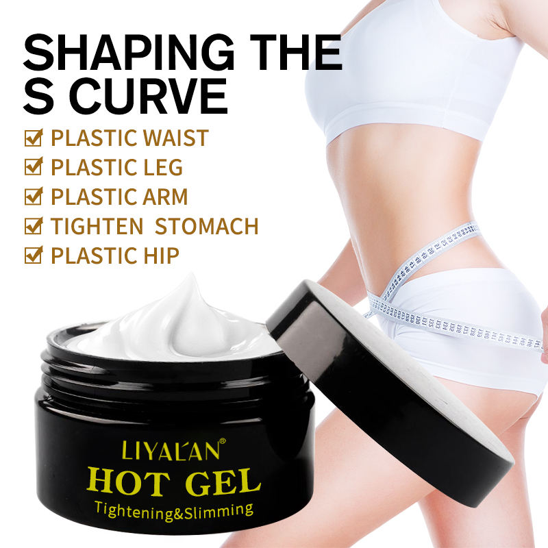 OEM natural organic best body care removal cellulite private label hot body slimming cream