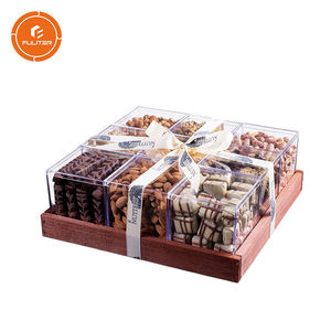 Wholesale Recycle Decorative Fancy Paper Dry Fruits Gift Box