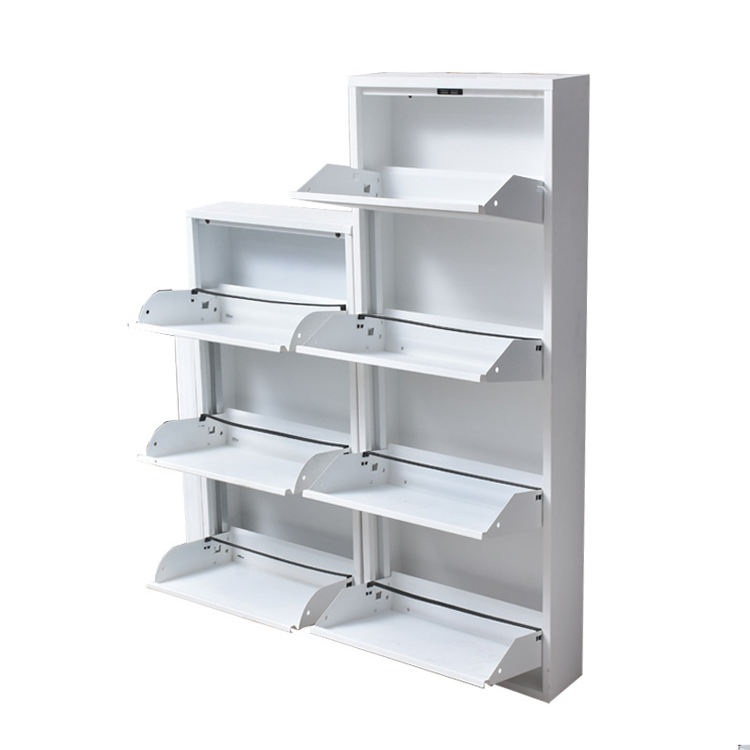 modern furniture home steel metal shoes rack modern shoe rack cabinet