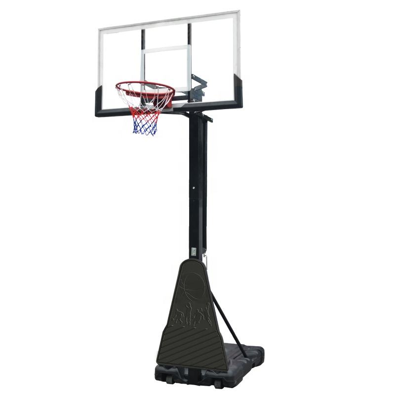 Outdoor Professional Height Adjustable Removable Portable Basketball Hoop Stand for Sale