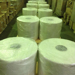 white waterproofing fiber glass mesh for roof 80g-20x20