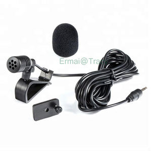 Wholesale car GPS condenser microphone 3.5mm plug external assembly mike car bluetooth microphone