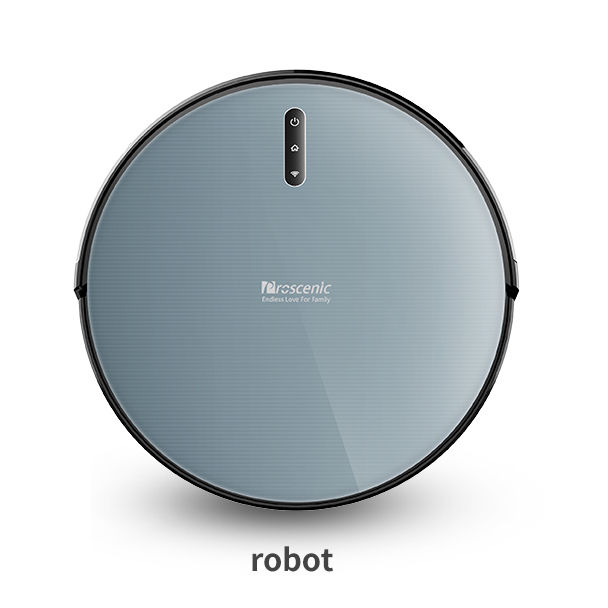 Robot vacuums Proscenic 830T smart cleaning robot with 2000pa max suction and 6 cleaning modes,cheap robot vacuum cleaner