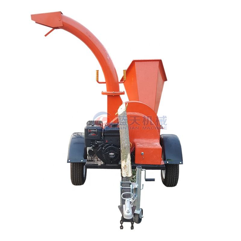 high efficiency forestry machinery wood chipper cutter tree branch cutting machine